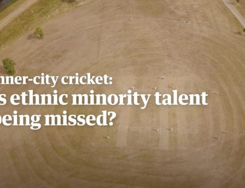 CRICKET'S COMPLEX RELATIONSHIP WITH RACE