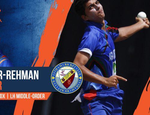 Lytham sign Afghan spin sensation